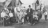 Group photo of family Vernon Internment Camp thumbnail