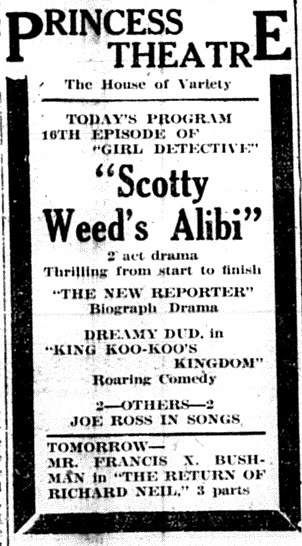 The Girl Detective Ad: Scotty Weed's Alibi
